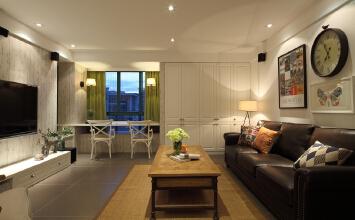 天誉城3室2厅105平米美式风格