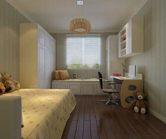 三居室现代简约风格效果图