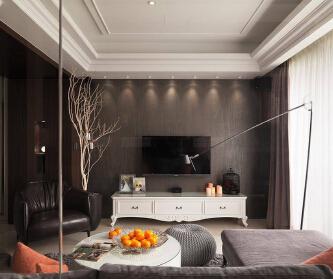 125平欧式三居室,现代...