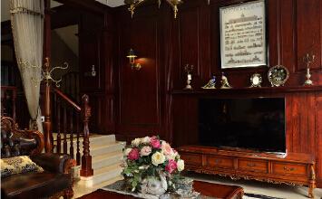 成都龙都国际别墅 美式古典之弗朗明戈