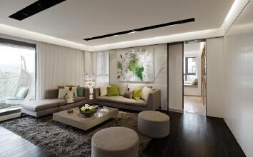 成都三室两厅简约风格