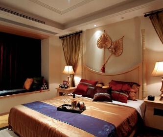 东南亚风格四居室装修设计