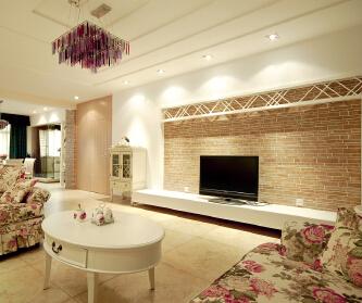 混搭风格四居室装修设计