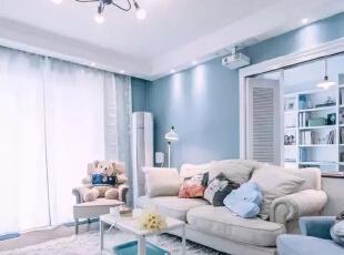 蓝色小清新风格