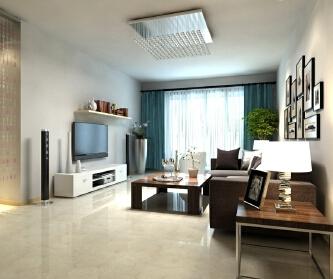 139平三居室室现代简约