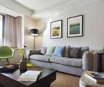 82平现代简约两居室,温...