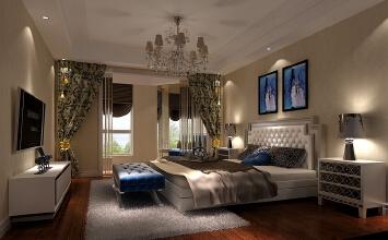 欧式室内设计打造出舒适,简洁,宽敞大方的居住空间