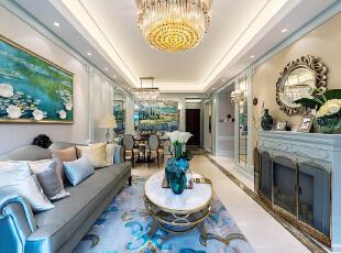 14万丽水嘉园98平米法式风格装修设计图图片