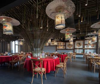 500㎡文艺餐厅·复古风...