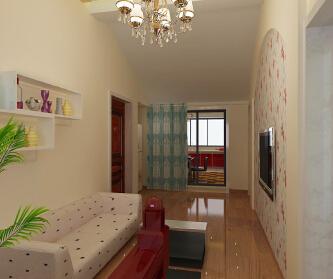 广州绿地城2室1厅105...
