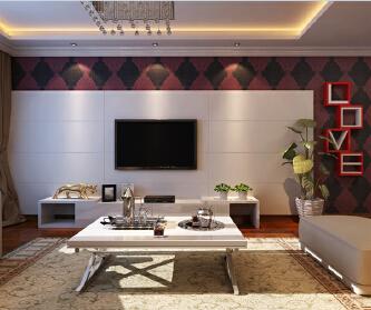 简约中式时尚设计案例-紫...