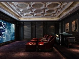 地下影音厅,客厅