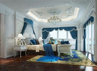 浪漫法式新古典-谷居家居装修设计效果图图片