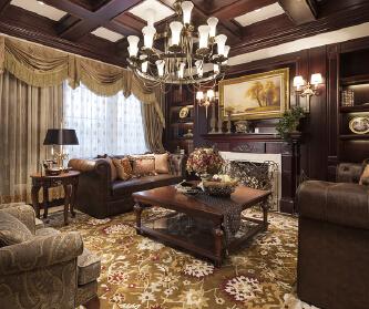 美式风格打造温馨家园