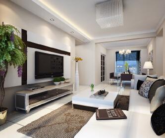 123平米现代温馨设计