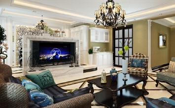 振华滨海假日3室2厅174平米美式风格