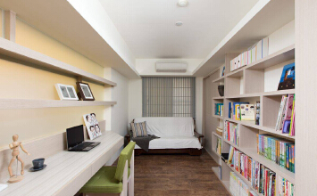 万业紫辰苑3室2厅93平米现代风格