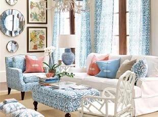 9款美式客厅设计方案  成都的你一定要看!