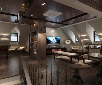 圣堡别墅欧式古典风格设计...
