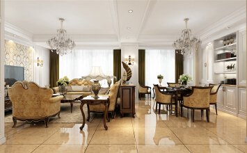 德绍豪斯别墅装修欧式风格设计方案