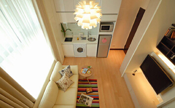 小户型老房创意改造 20平装出小豪宅