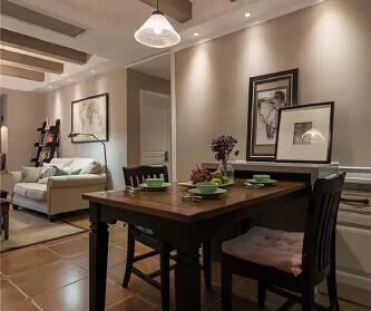 美式古典三居室