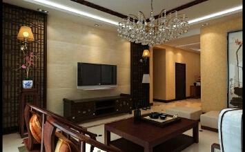 金地格林世界3室3厅98平米中式风格