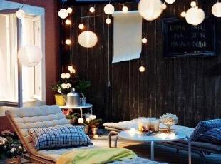 居家露台 一个喝茶聊天交友的独立空间,成都的你值得拥有!