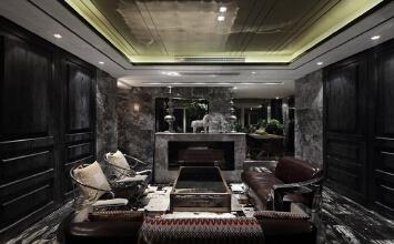棕榈泉后现代风格装修设计