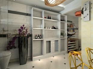 惠丰瑞城现代室厅-谷居家居装修设计效果图