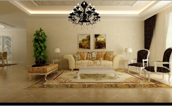 150平欧式三居室