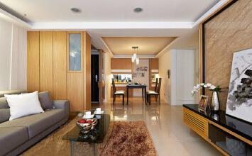 三室两厅 现代简约风格老房改造