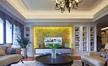 中西元素巧妙融合,简约而不简单的公寓设计