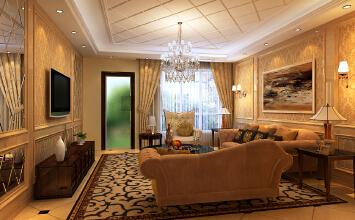 【陕西桐城装饰】古典欧式风的三居室,不能再美了