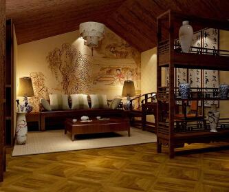 今朝中式古典一居
