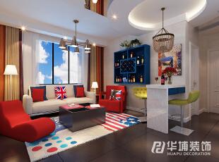 正商花语里二室二厅90平现代简约风格装修效果图