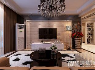 清华大溪地三室二厅138平现代简约风格装修效果图