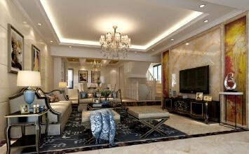 凤麟花园4室2厅270平米欧式风格