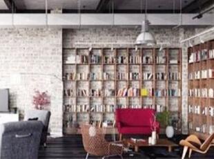 转角书柜设计,小户型的大利用!