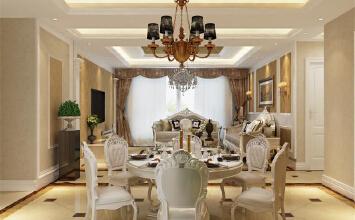 杭州高度国际/欣盛东方福邸196平方欧式风格