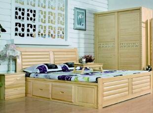 实木家具选材 松木床的优缺点分析