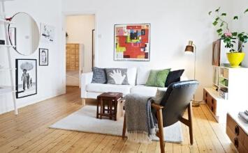 40平米的清新田园公寓老房改造