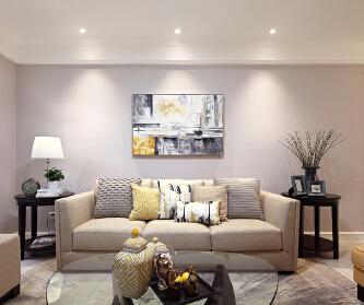 110平米现代居室温馨小...
