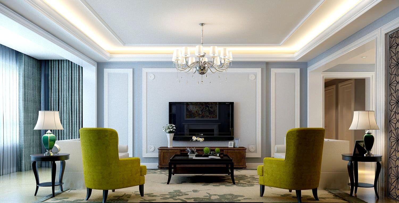 轻奢欧式风格客厅