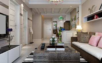 【乐豪斯装饰】保利花园D区89㎡两居室现代简约装修效果图