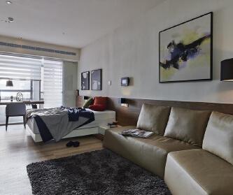 27平超小一居室