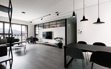 黑白空间设计