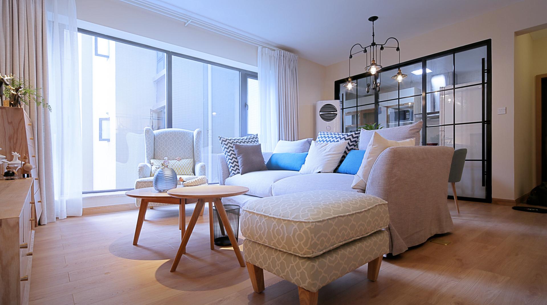 中粮香颂丽都-85平米公寓a公寓王道-谷居家居装修下拉哈尔滨门面装修风格设计棒图片