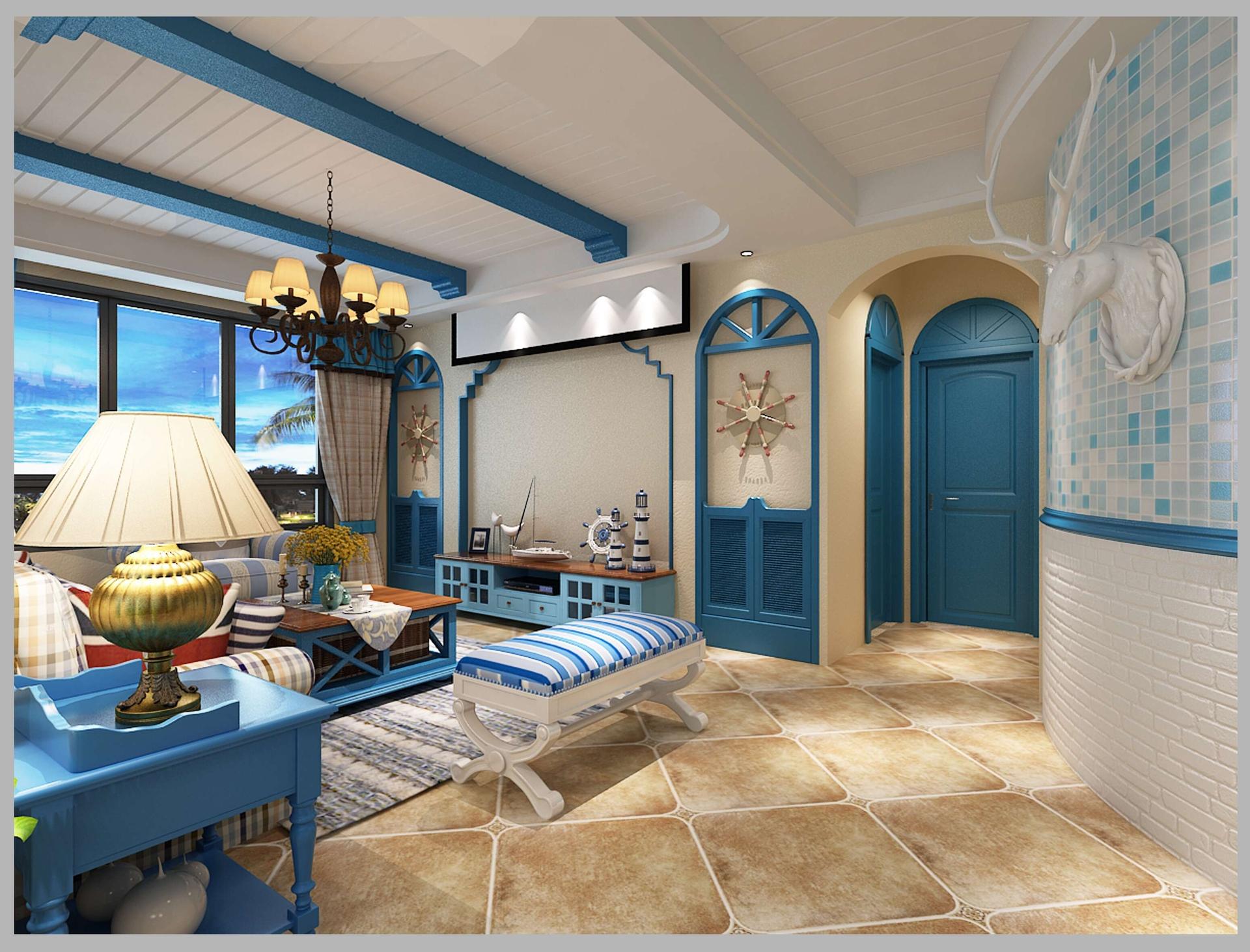盐城地中海风格设计案例