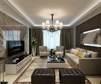三居室现代风格设计